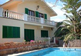 Villa in Portocolom, Majorca: private pool