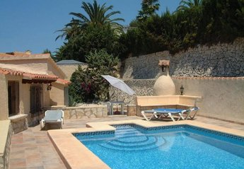 Villa in Spain, Paixi: Secluded and private use of pool to rear of villa - sun on pool all day