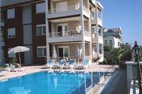 Apartment in Turkey, Side: The pool area