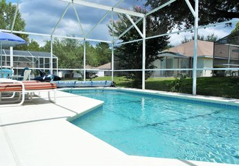 Villa in USA, Florida Pines: Extended solar heated pool