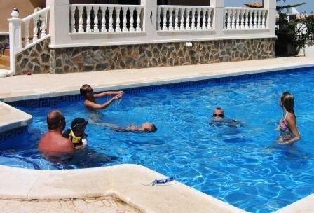 Villa in Spain, Ciudad de las Comunicaciones: 10m x 5m Pool - Room for everyone