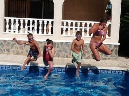 Villa in Spain, San Miguel de Salinas: Pool Fun