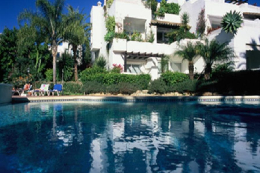 Apartment in Spain, Marbella: Alhambra del Mar - swimming pool