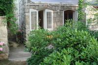 Studio_apartment in Croatia, Lapad: courtyard
