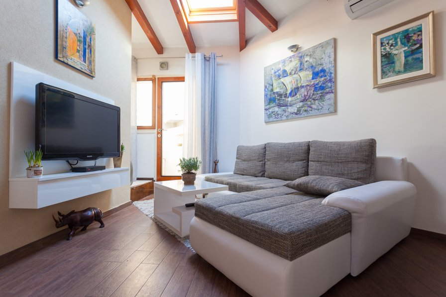 Studio apartment in Croatia, Lapad
