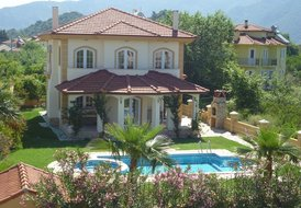 Villa in Dalyan, Turkey: Villa Orodelea with its mature garden and private pool