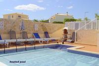 Villa in Portugal, Pera: barbecue  by pool area