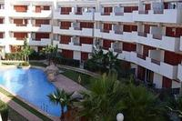 Apartment in Spain, Playa Flamenca: Balcony views to communal pool