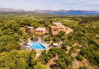 8 bedroom Villa for rent in Alcudia