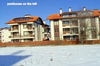 Penthouse_apartment in Bulgaria, Bansko: left building top pentehouse