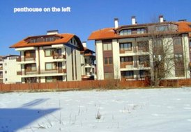 Pentehouse in Bansko Next to river with stunning mountain views
