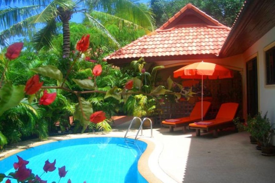 """Owners abroad """"Coconut Paradise Villa"""" Luxury 2 Bed Private Pool Villa"""