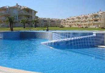 Apartment in Spain, Playa Romana-Carregador: Beachfront only metres away