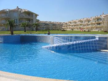 Apartment in Spain, Alcossebre: Beachfront only metres away