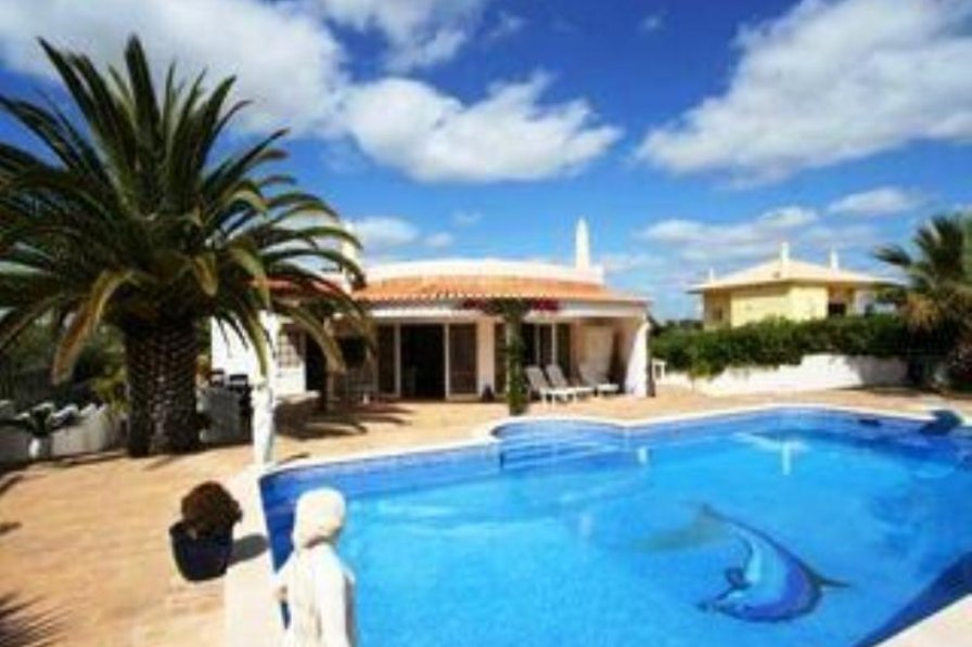 Bed Villa With Private Pool Algarve
