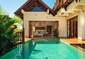 Private residence Villa Karma Manis  on white sand beach.