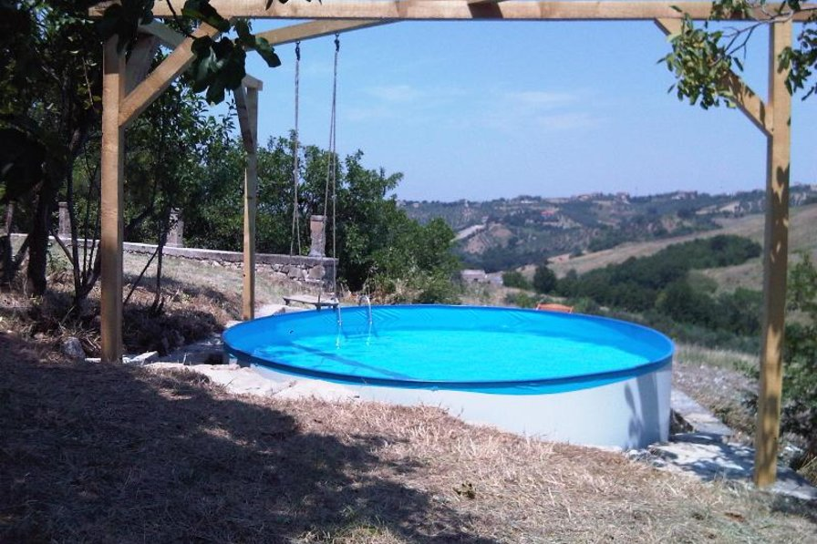 Cottage in Italy, Atessa: Plunge pool in the grounds