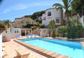 Casa les Delphins (3 bed villa, third bedroom in seperate annex)