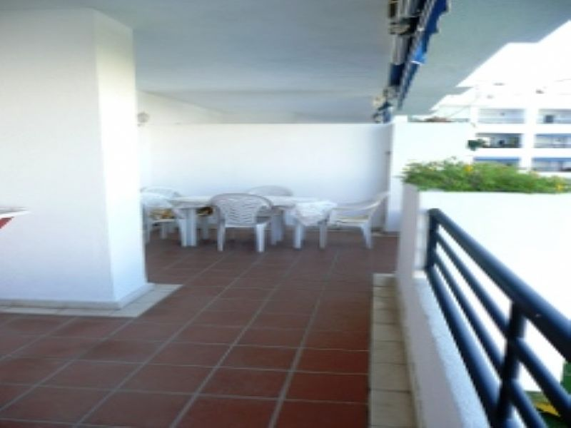 Apartment in Spain, Puerto Banus: Sunny Terrace West Facing Overlooks Pools and Gardens