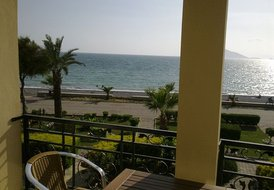 Apartment in Calis, Turkey: Seafront view from A9 balcony