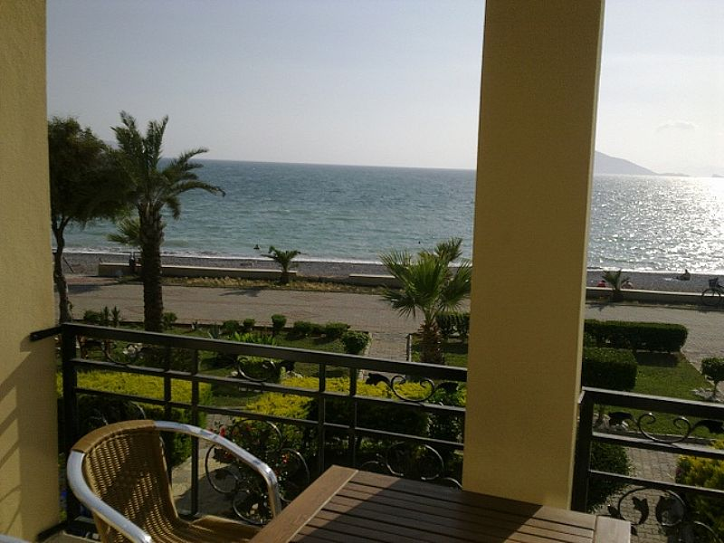 Apartment in Turkey, Calis Beach: Seafront view from A9 balcony