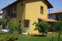 Villa in Turkey, Calis: side view of villa and orange/lemon/olive trees