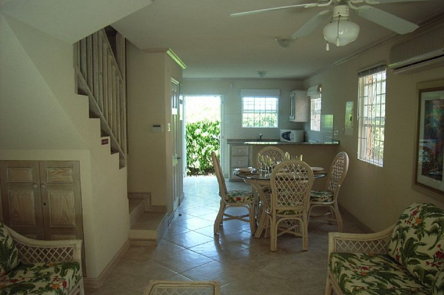 Villa in Barbados, Fitts Village: Dining Area