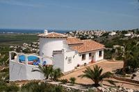 Villa in Spain, Pego: Villa and large drive   front garden