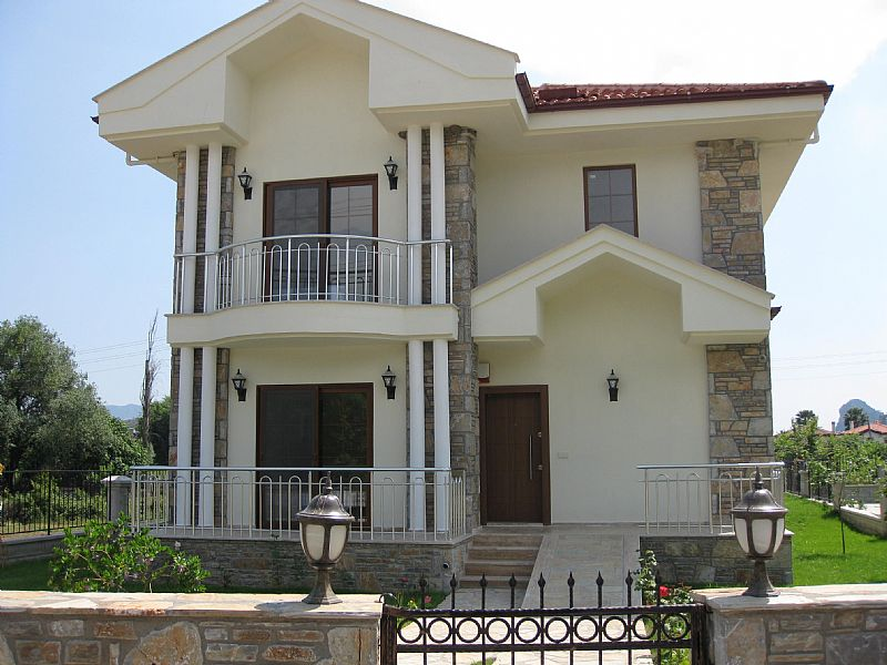 Villa in Turkey, Gulpinar area: Villa Busra. Private four bedroomed villa.