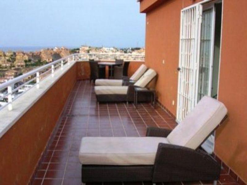 Penthouse apartment in Spain, Mijas: terrace