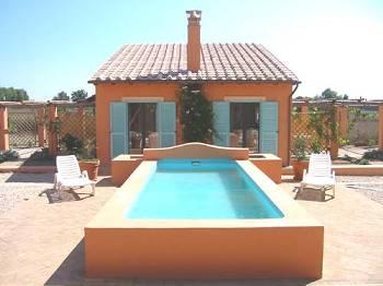 Villa in Italy, Lazio: front view