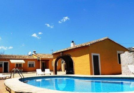 Villa in Jalon, Spain: Villa Pla (Jalon, Alicante)
