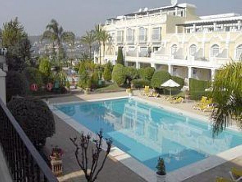 Apartment in Spain, Marbella: View of exterior and pool