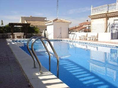 Villa in Spain, Quesada: Communal Swimming Pool and Terrace