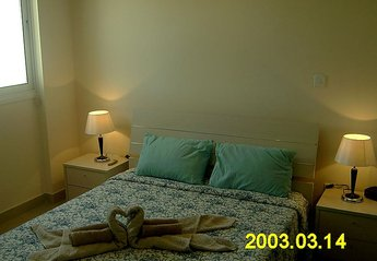Apartment in Cyprus, Kiti village: Double Bedroom