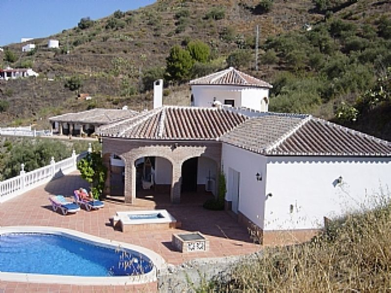 Villa in Spain, Malaga to Nerja: Exterior