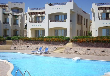 Apartment in Sharm El Sheikh, Egypt: View of our Holiday Home (Top Right)