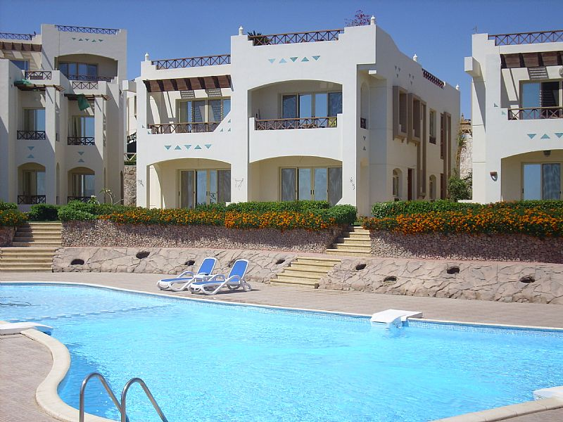 Apartment in Egypt, Sharm El Sheikh: View of our Holiday Home (Top Right)