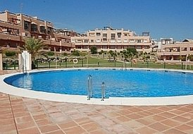 Stunning 2 bed apartment with communal pool in Casares, Costa del Sol