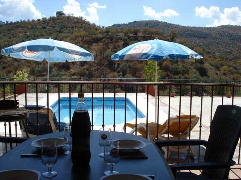 Villa in Spain, Guaro: Pool with great views