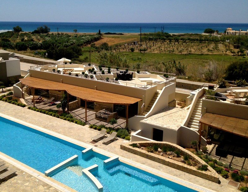 Bungalow in Greece, Makri Gialos