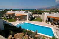 House in Greece, Makri Gialos: Rock garden pool, one out of the three pools