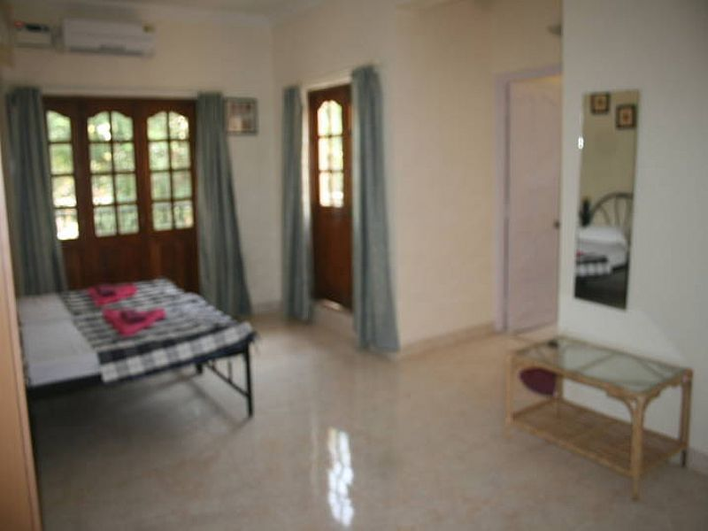 Apartment in India, Baga: Living room overview