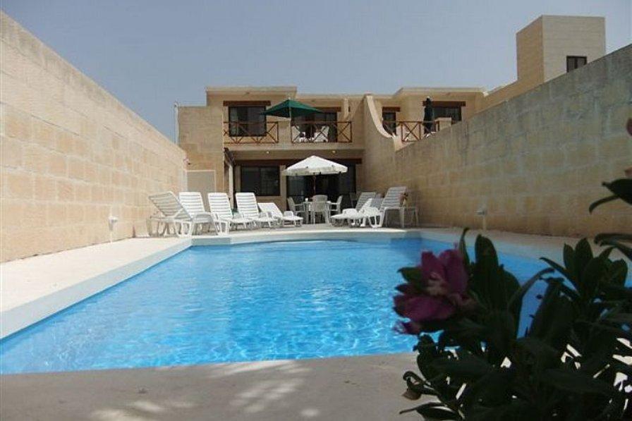 Villa in Malta, Sannat: Pool Area