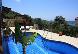 Villa Simena, luxury Pool- and Seaviewvilla, lot of space