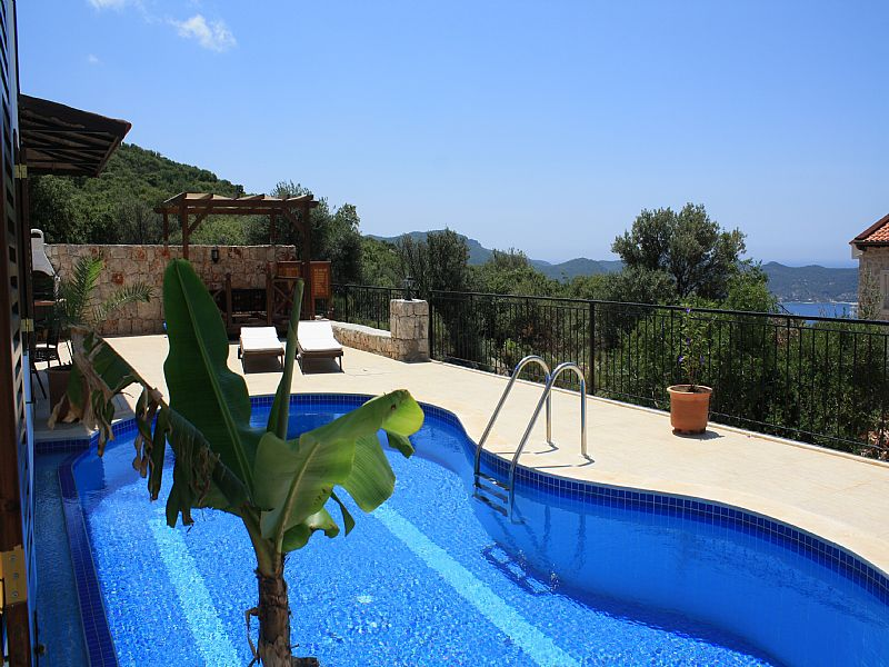 Villa in Turkey, Kas: Pool