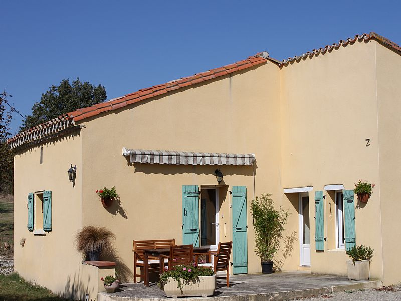 House in France, Castelnaudary: LOstalet front view
