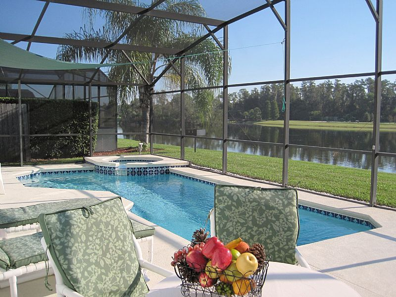 Villa in USA, Lake Berkley: Pool spa and natural lake  view - wow