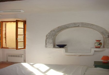 House in Argeliers, the South of France: Bedroom