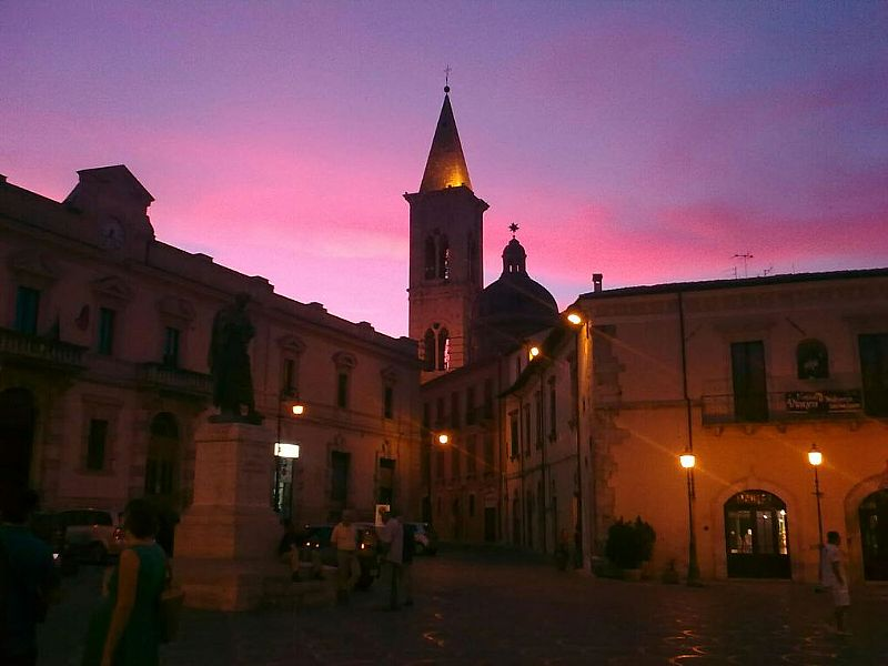House in Italy, Sulmona: Sulmona at Night